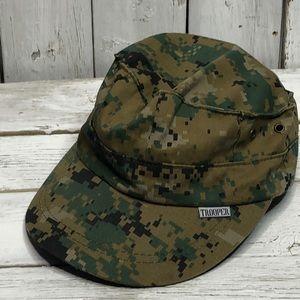 Marines Camouflage Boys Size Hat